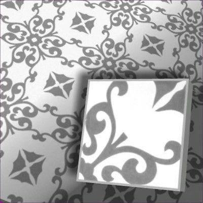 1m² Zementfliesen Jugendstil Fliesen Vintage Trend Fliesen Fußboden Fliesen 4301