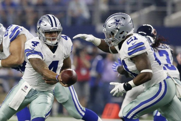 After Ezekiel Elliott broke a 60-yard touchdown run to effectively turn the Dallas Cowboys' game against the Cincinnati Bengals into a blowout win, the television cameras showed owner Jerry Jones confidently pumping his fist.  Give Jones his moment.  Elliott and Cowboys quarterback Dak Prescott might