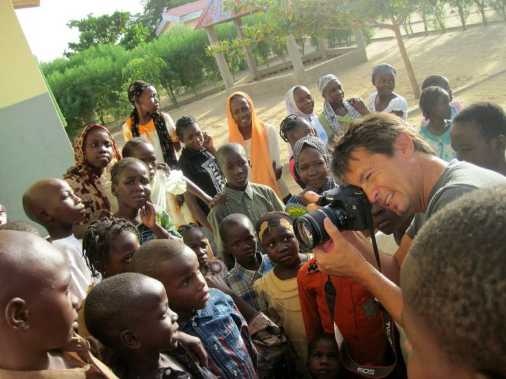 Photo shoot in an orphanage in Ndjanema, Chad.  40 years of civil war... leaves a lot of kids on the street.