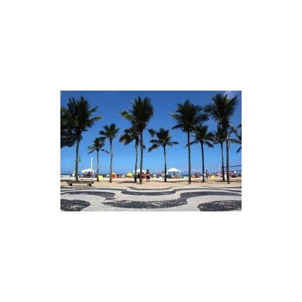 Copacabana Beach - Rio de Janeiro Attractions | Viator.com ❤ liked on Polyvore