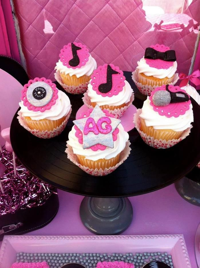 Rock Star Cake Decorations