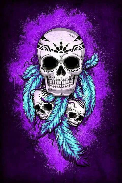 Purple Girl Candy Skull Wallpaper Best 25 Indian Skull Ideas On Pinterest Skull Drawings