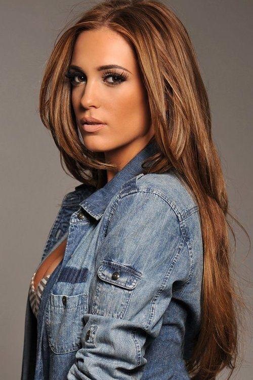 Caramel Brown Hair Extensions Clip In Human by GudHurPremiumHair, $200.00