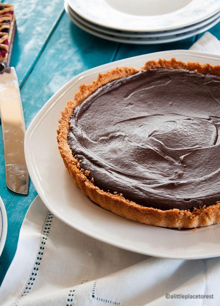 Crostata veloce cocco e cioccolato