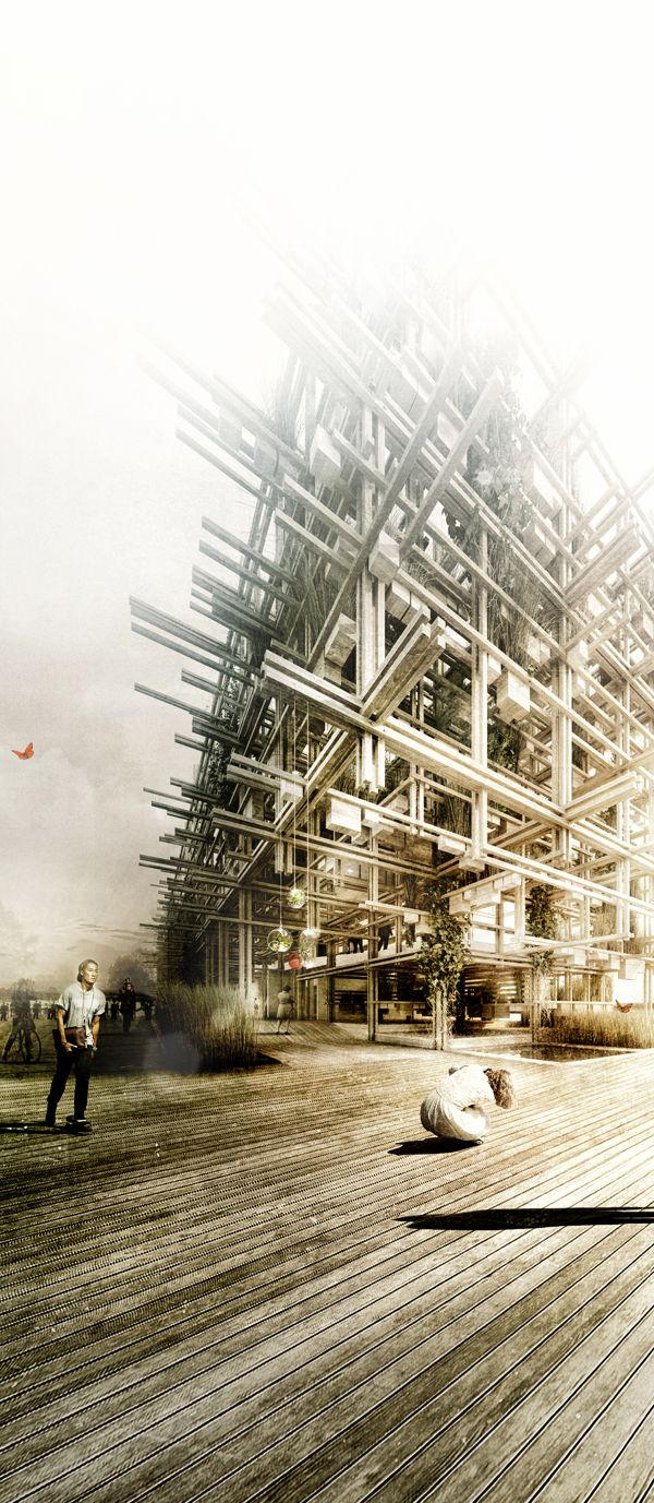 Amazing architectural renderings by Alexander Daxböck