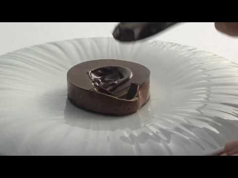 Quay Restaurant - Peter Gilmore's Chocolate Cake - YouTube. I almost shed a tear watching this. So beautiful.