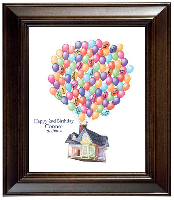Birthday Gift House Up Guest book Ideas Birthday Guest  ~ 013005_Birthday Party Guest Ideas