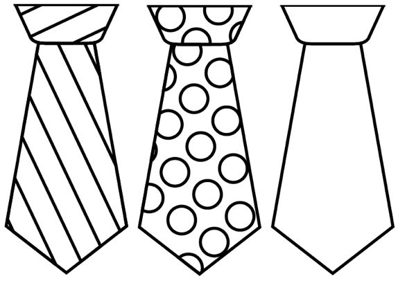 father's day necktie craft