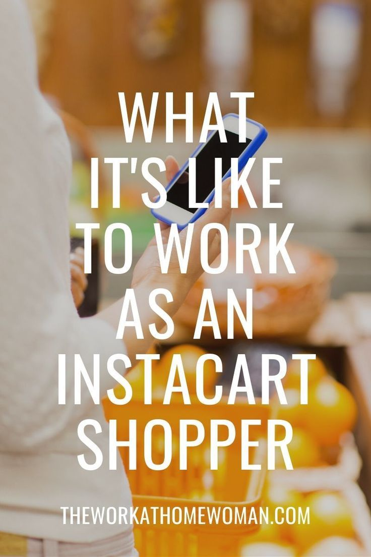 Instacart Review What It's Like Working for Instacart