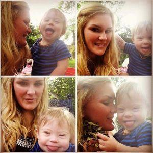 """Eles o chamaram de """"feio"""" para seu filho com síndrome de Down. Sua resposta foi perfeita"""