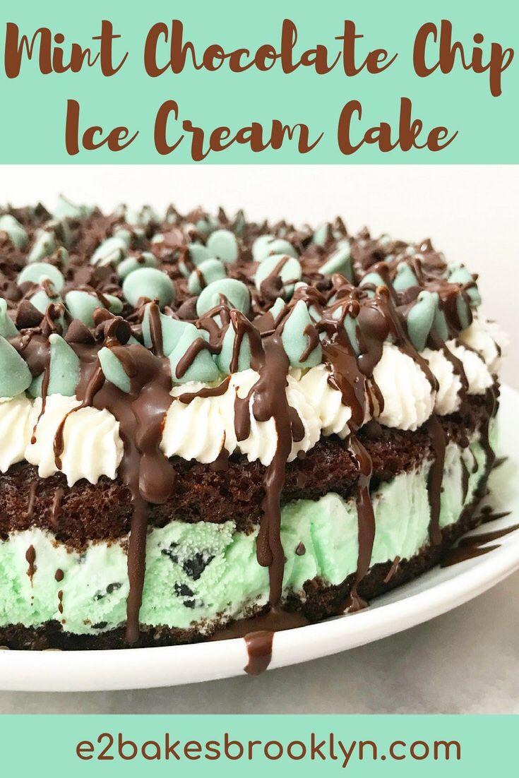 Wordpress Com In 2020 Homemade Ice Cream Cake Mint Chocolate Chip Ice Cream Cake Mint Chocolate Chip Ice Cream