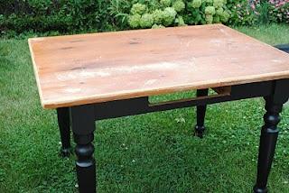 """Blue Clear Sky: Farmhouse kitchen table set"" #diy #kitchen #table"