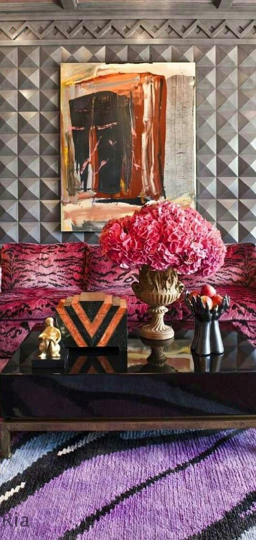 PAPARAZZO OF INTERIORS l Kelly Wearstler Designs l Ria