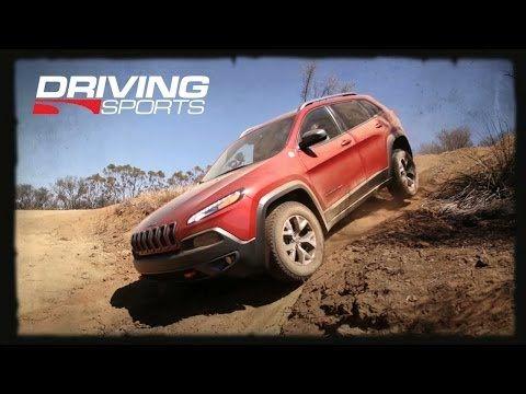 2014 Jeep Cherokee Trailhawk versus Moab's White Rim Trail - YouTube