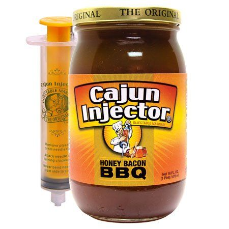 Cajun Injector Injectable Marinade Refill 16oz Glass Jar Pack of 3 Honey Bacon BBQ >>> Want to know more, click on the image.