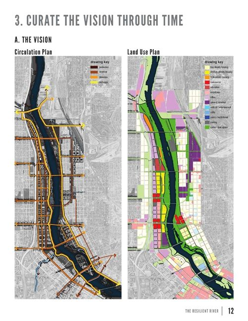 Resilient River The Minneapolis Waterfront Design by Turenscape