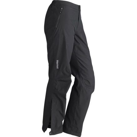 Side zips to put on/off without removing boots.  Marmot Minimalist Pant - Women's