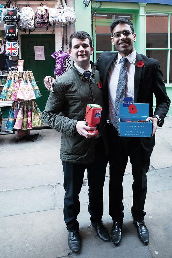 Urban London Poppy Salesmen - Steve Middlehurst