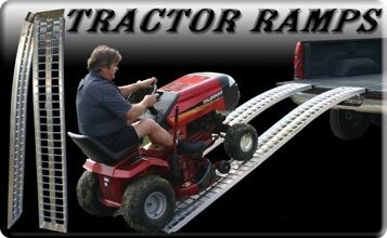 Equipment Loading Ramps. ATV Heavy Duty Steel & Aluminum Ramp - - Arched ATV Ramps, ATV Loading Ramp, Heavy Duty ATV Ramps.