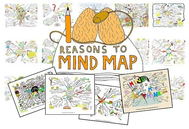100-reasons-to-mind-map, mind mapping inspiration
