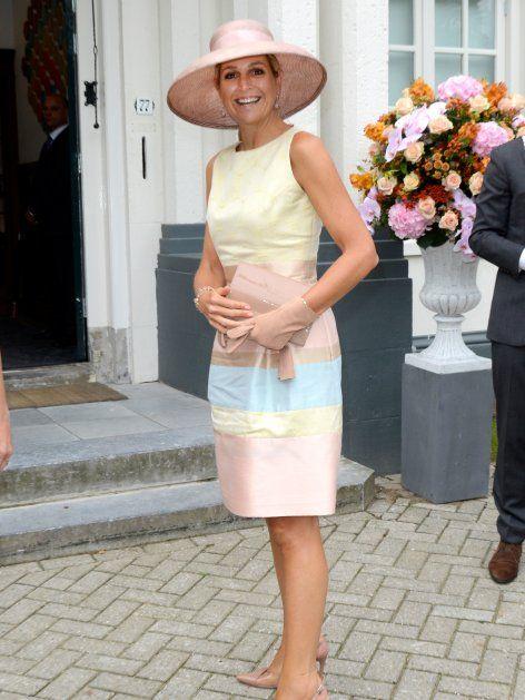 """In diesem Bonbon-Traum eröffnete Königin Maxima der Niederlande das """"Papageno Haus"""". Klick: Sommer-Shooting der Königsfamilie"""