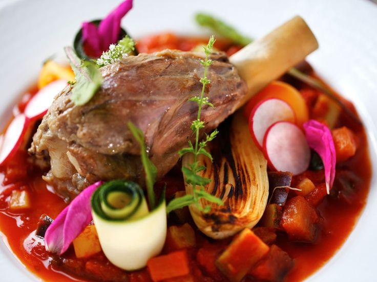 Lammlägg med ratatouille | Recept.nu
