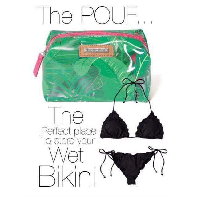 Everyone needs a pouf! Store your expensive bikini there and keep it safe! www.stelladot.com/territindall