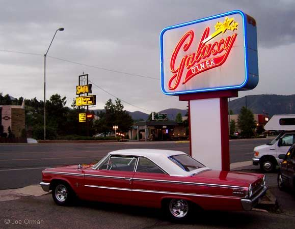 Hot ride Ford Galaxie) and cool neon. & 94 best Throwbacks images on Pinterest | Castle Ford vehicles and ... markmcfarlin.com