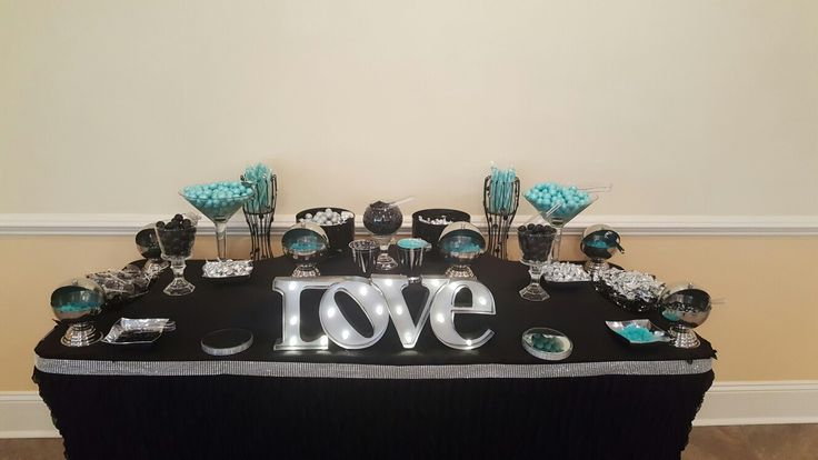 Candy station wedding