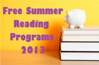 Free Summer Reading Programs for 2013 by One Less Headache.