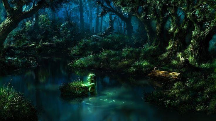 """Képtalálat a következőre: """"fantasy water forest"""""""