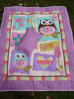 owl panel into a quilt