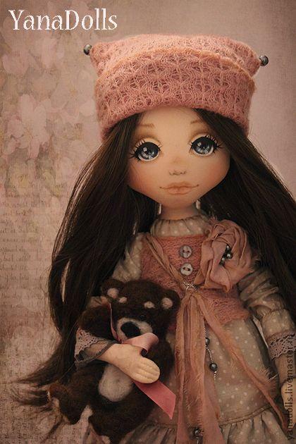 Коллекционные куклы ручной работы. Ярмарка Мастеров - ручная работа Стася. Handmade.