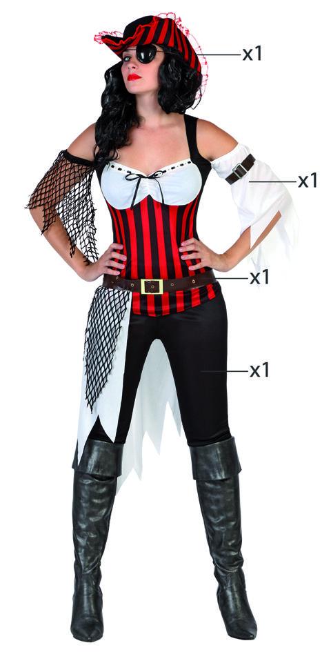 Ms de 25 ideas increbles sobre Disfraz pirata mujer en