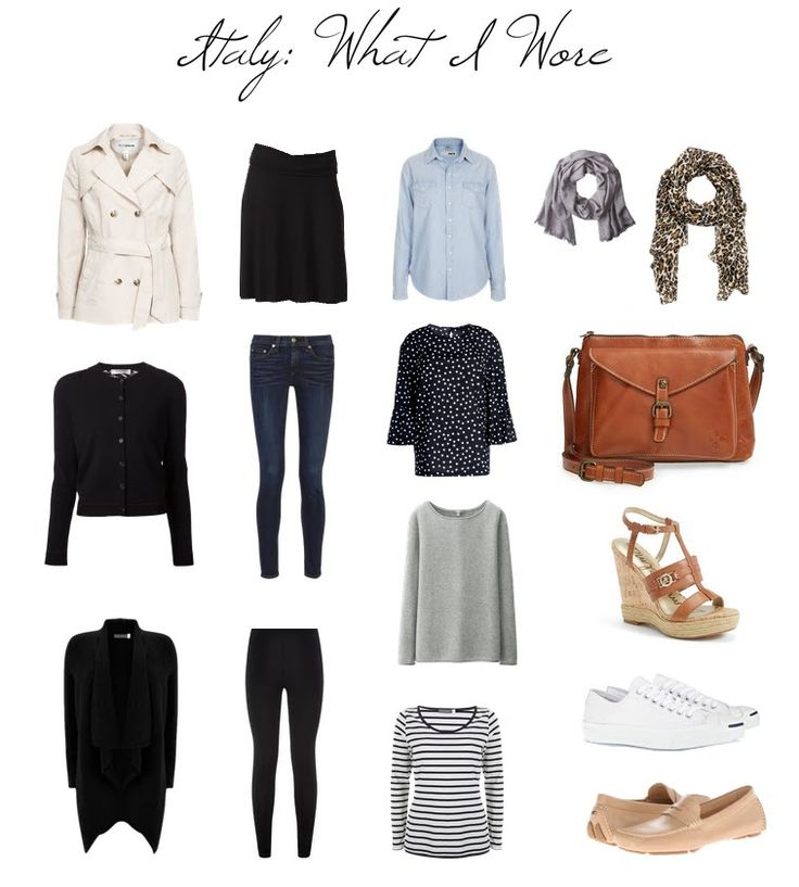 COTTAGE AND VINE Italy:  How to Pack for Ten Days in a Carry on
