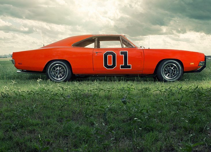 The General Lee - 10 Of The Coolest TV Cars Of All Time. Click on the image to see who came out on top. #top10 #spon