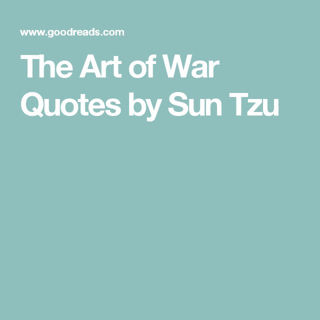 learnings from sun tzu strategy art A comprehensive strategy website, with special focus on sun tzu's the art of war treaty and its powerful application in business, politics, negotiation and in life.