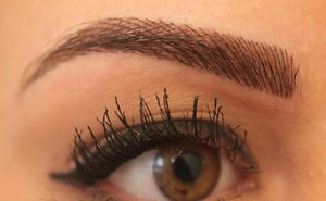 Permanent Makeup Eyebrow___ Feathering Technique: They save you so much time each morning and you can swim with beautiful brows
