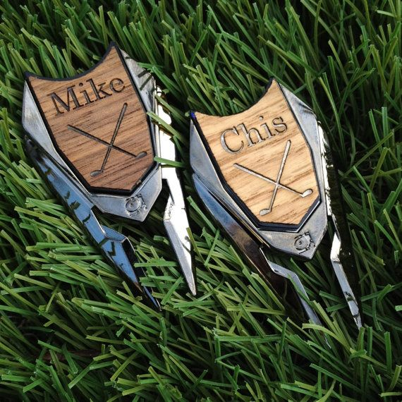 This is a perfect Groomsmen Gift and Ideal for your golfing friends! ~Listing is for 1 Divot Remover / Golf Ball Marker - I will engrave a name or