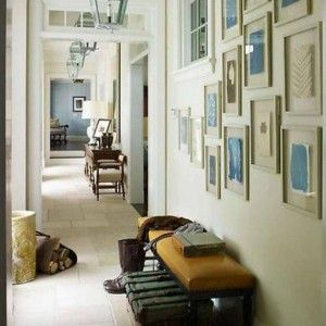 Small Hallway Decorating Ideas With Hall Lanterns And Wall Arts And Furniture…