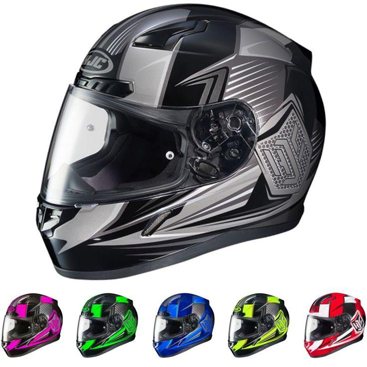 HJC CL-Y Striker Motorcycle Youth Boys Girls Street Bike Moto Protective Helmet
