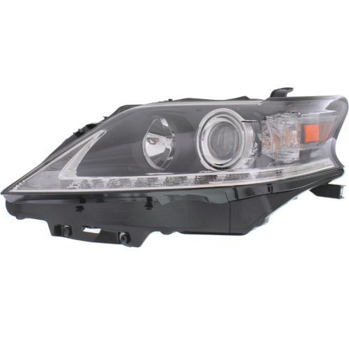 2013-2015 Lexus 450H Head Light LH, Assembly, Halogen, With Led