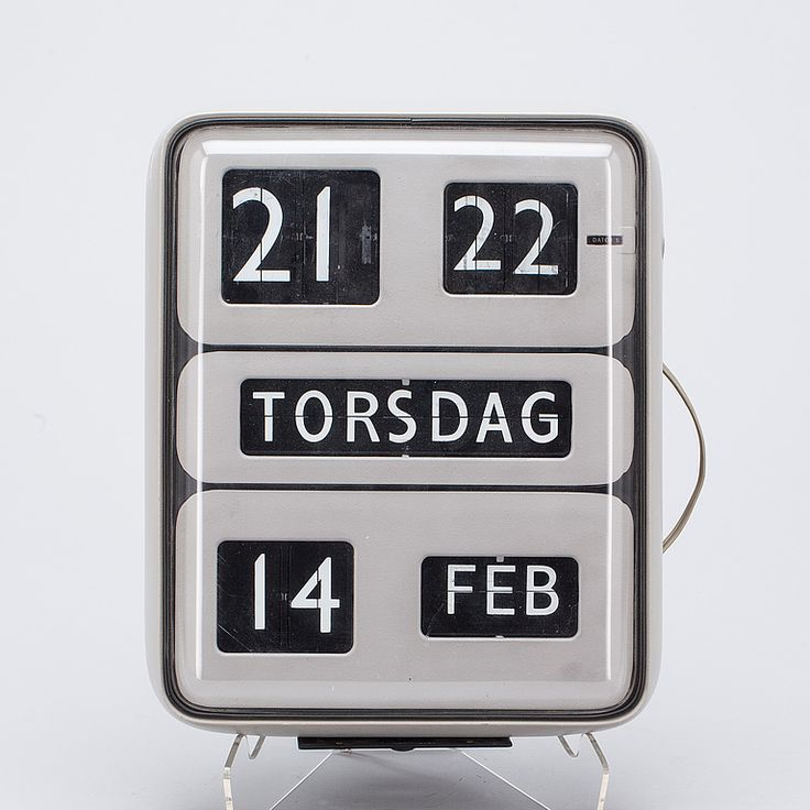 1960s Solari Udine Dator 5 flip clock