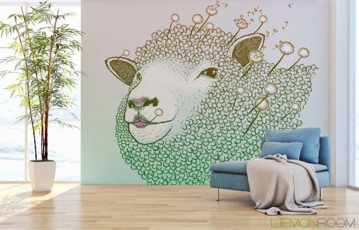 #Fototapeta Owca >> http://lemonroom.pl/fototapeta-0-wyniki-wyszukiwania-46694403-Spring-dandelion-ewe.html  #fototapety #fototapeta #fototapety3D #Design #WystrójWnętrz #inspiracje #Dekoracje #Wnętrza #Aranżacje #Wnetrza #wystrojwnetrz #InteriorDesign #HomeDecor #Decorating #WallDecor #WallArt #Wallmurals #murals