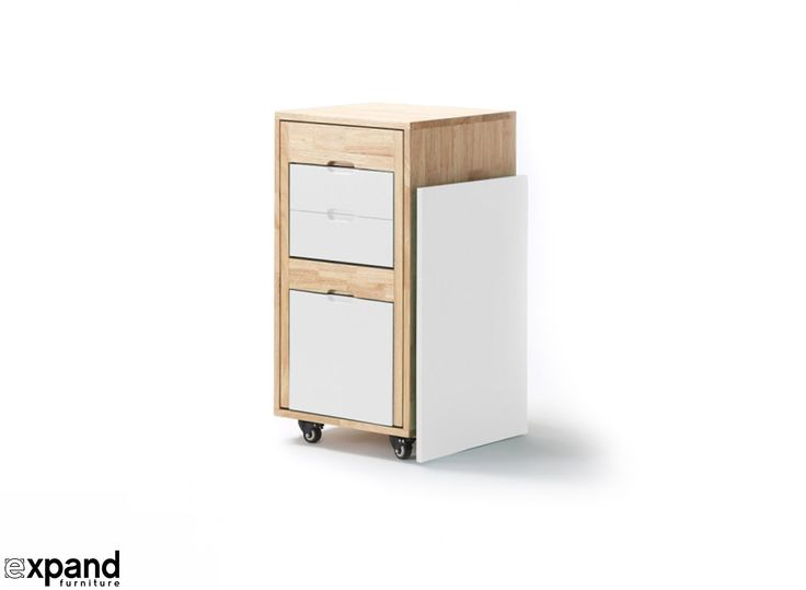 At expand furniture, we specialize in space saving furniture of all types. One of our best selling pieces of transforming office furniture is the Ludovico.
