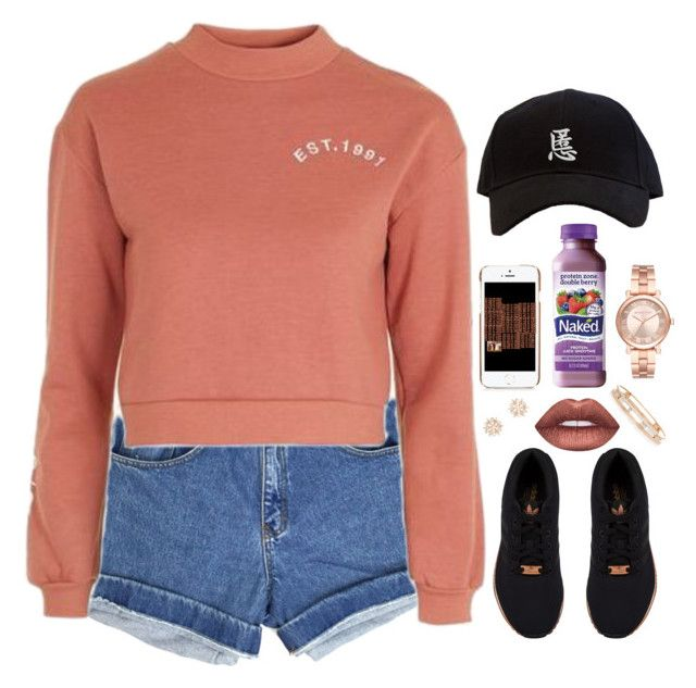 """""""Fall Feels"""" by oh-aurora ❤ liked on Polyvore featuring Topshop, Moschino, Michael Kors, Zone, Lime Crime, adidas Originals, Messika and Charlotte Russe"""