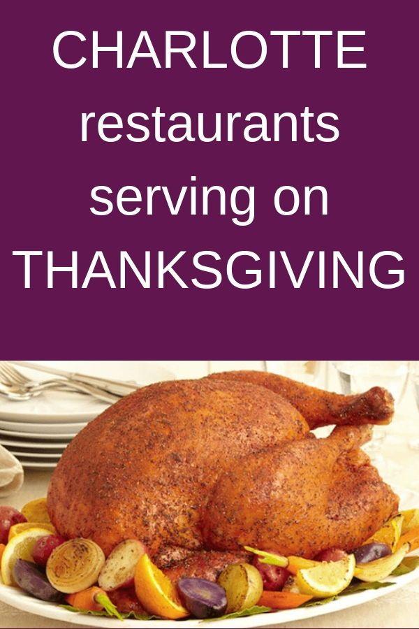 Here Is Your List Of 34 Restaurants Serving Dinner On Thanksgiving