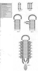 Bransoletka Bugle   biser.info - wszystko o koralików i prac koralikami