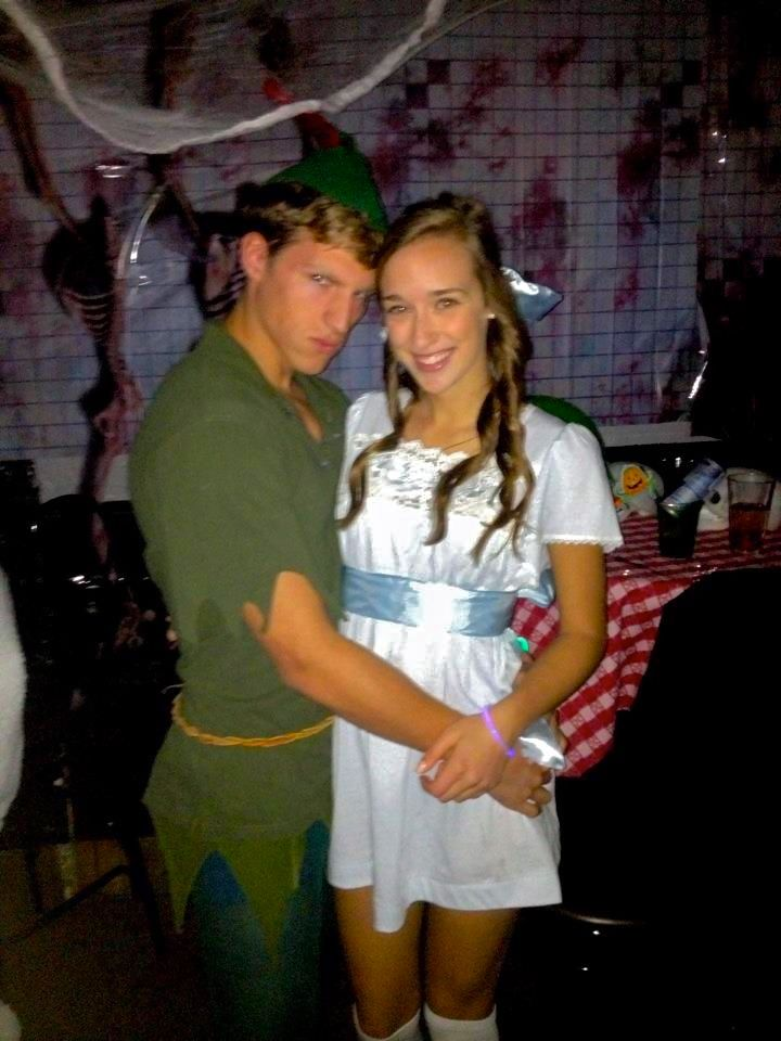 peter pan and wendy diy couples costume halloween this is adorable but the dress - Halloween Costume For College Guy