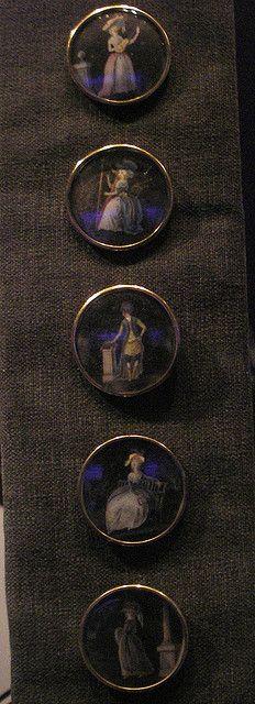 Buttons 1780s gentleman's frockcoat